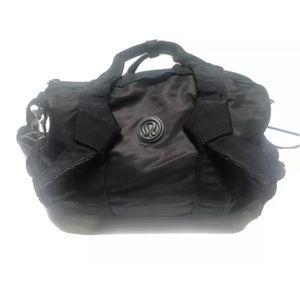 Lululemon Black Gym Duffle Bag